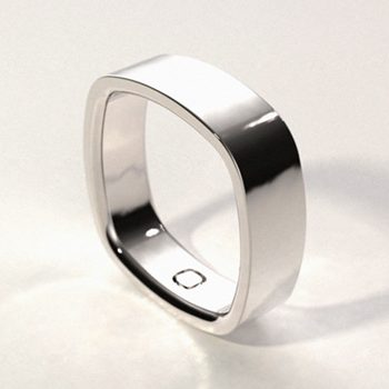 Top perspective of the Original Simple Ring