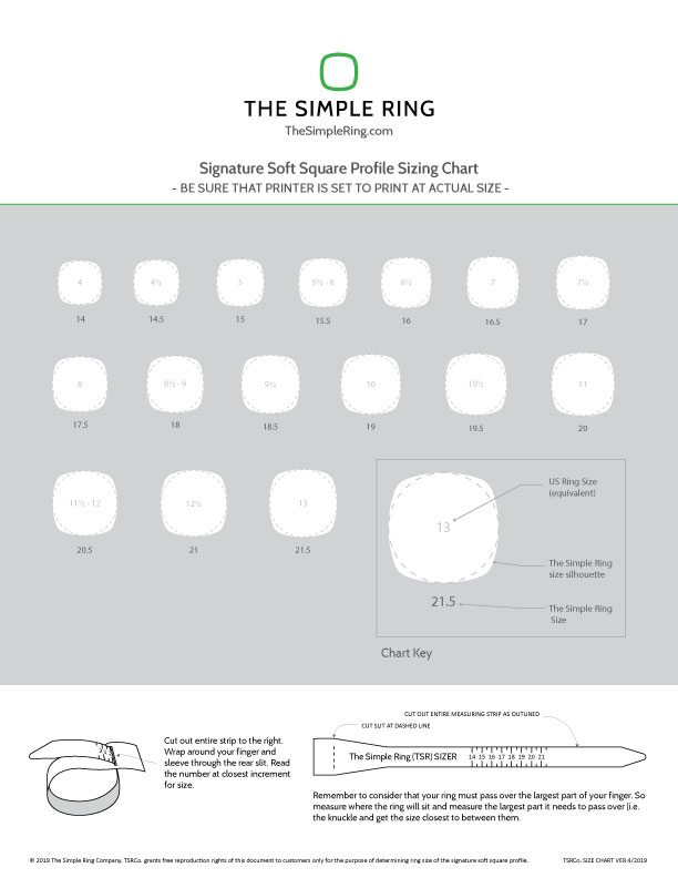 An image showing ring sizes